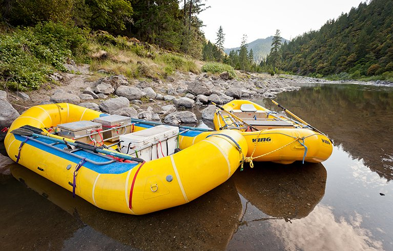Rent a raft for the Rogue River