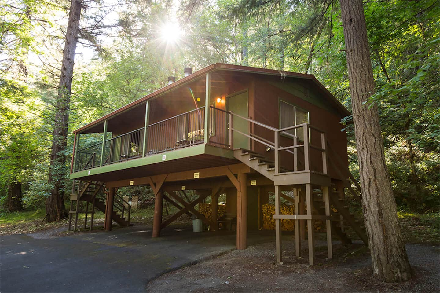 Cabins at Morrisons Lodge on Oregon's Rogue River